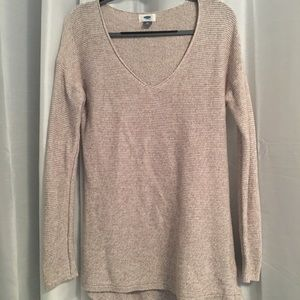 Old Navy Cream/Tan Sweater